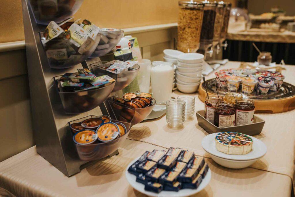 Zajtrk v Hotelu Mitra Ptuj