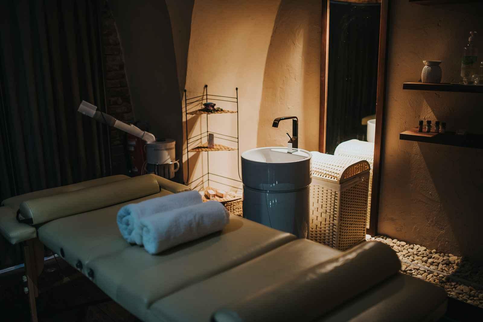 Ambient v Wellness salonu Venera v Hotelu Mitra Ptuj