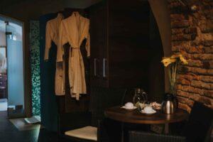 Udobje v Wellness salonu Venera v Hotelu Mitra Ptuj
