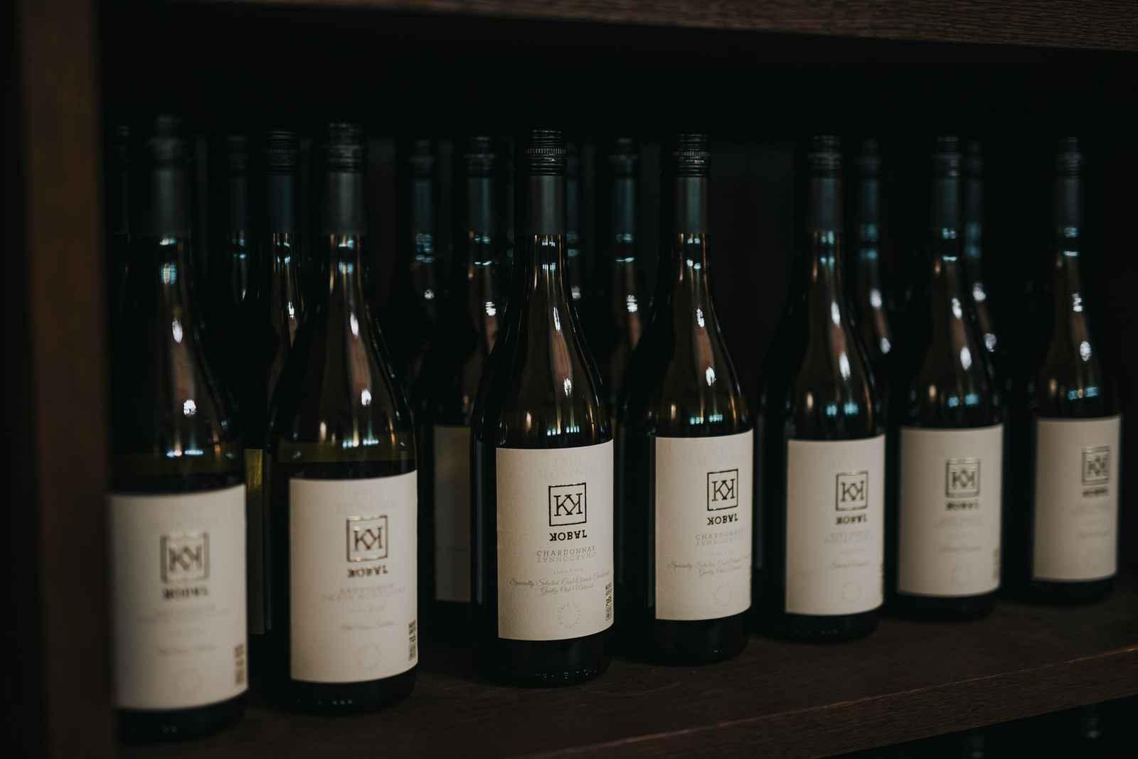 Ponudba vin v vinski kleti Osterberger v Hotelu Mitra Ptuj
