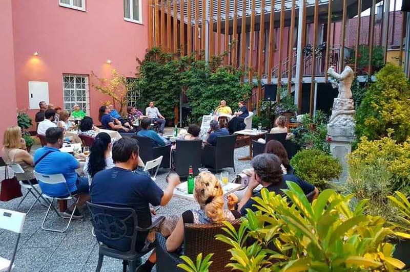 Dogodki na Mitrovem vrtu v Hotelu Mitra Ptuj